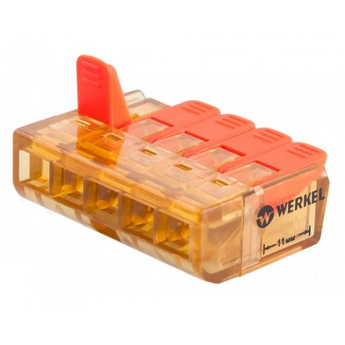 1TR-02-05 Клемма соединительная 5 контактов (5шт)