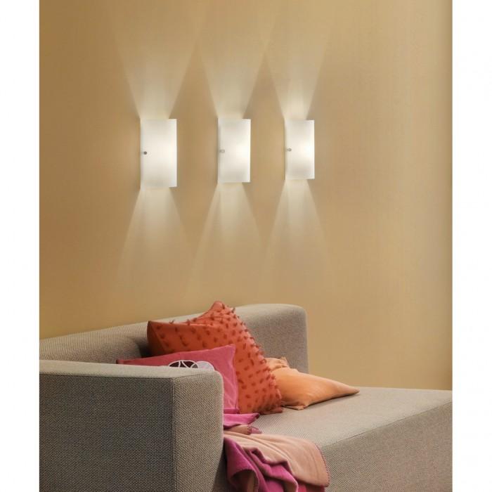 2Настенно-потолочный светильник 85979 EGLO квадратной формы