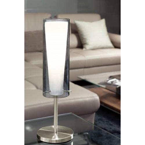 90308 Настольная лампа декоративная Pinto Nero