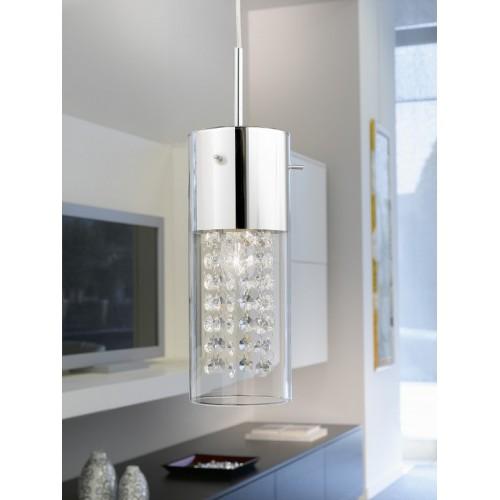 90695 Подвесной хрустальный светильник Diamond EGLO