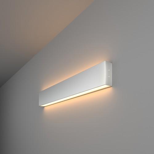 101-100-40-53 Линейный светодиодный светильник 53см 20Вт 3000К матовое серебро Электростандарт