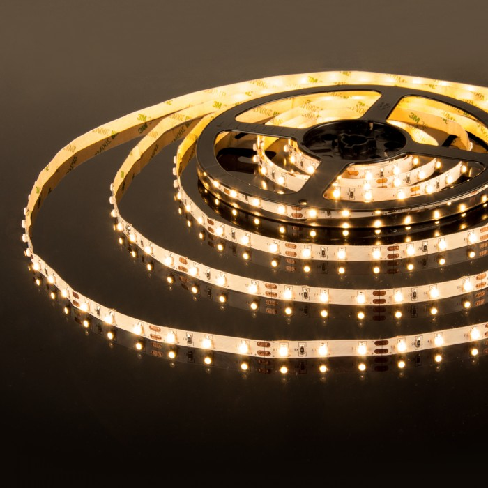 1049836 Набор светодиодной ленты 12 4,8W 60Led 2835 IP20 теплый белый, 5м Электростандарт
