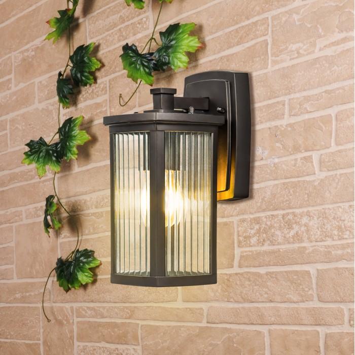 1Lame D кофе Настенный уличный светильник Электростандарт