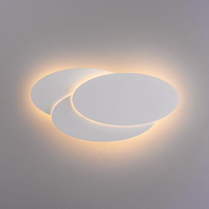 2Настенный светодиодный светильник 1014 Elips белый Elektrostandart