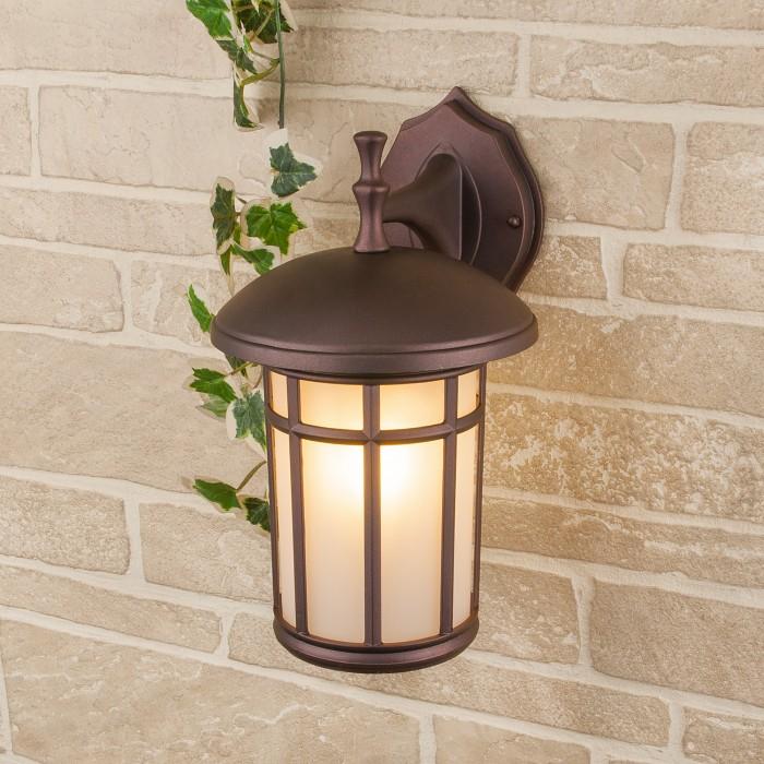 2Lepus D кофейное золото уличный настенный светильник Электростандарт
