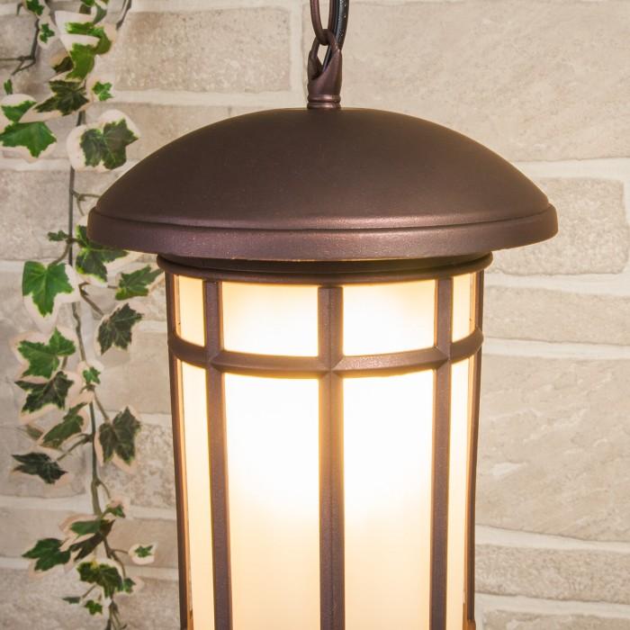 2Lepus H кофейное золото уличный подвесной светильник Elektrostandart