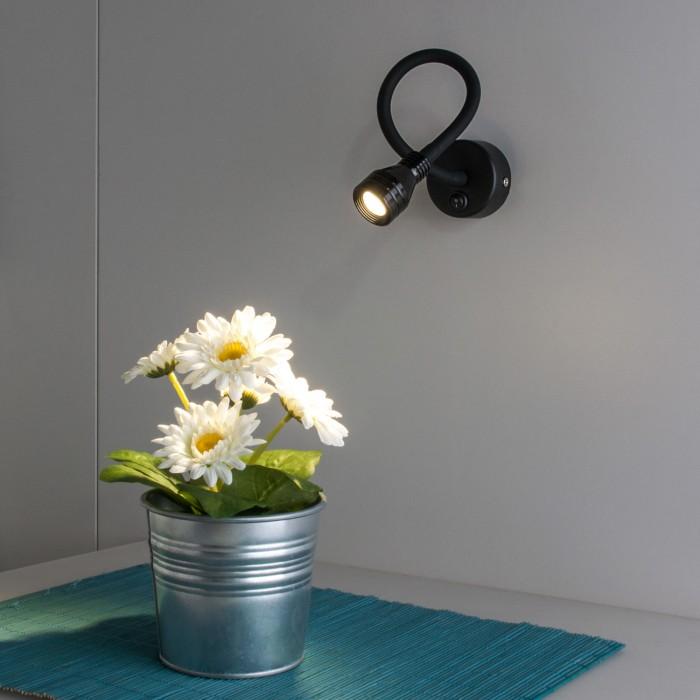 21030 Kord LED черный Гибкий светодиодный светильник