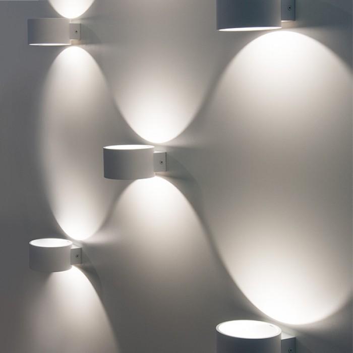 2Настенный светодиодный светильник 1045 Coneto белый Elektrostandart
