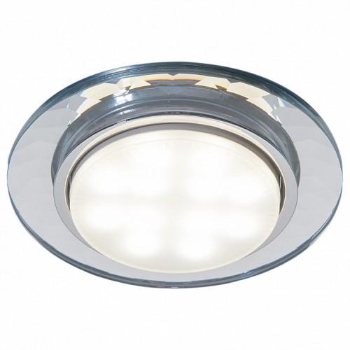 1061 прозрачный GX53 Встраиваемый светильник Электростандврт