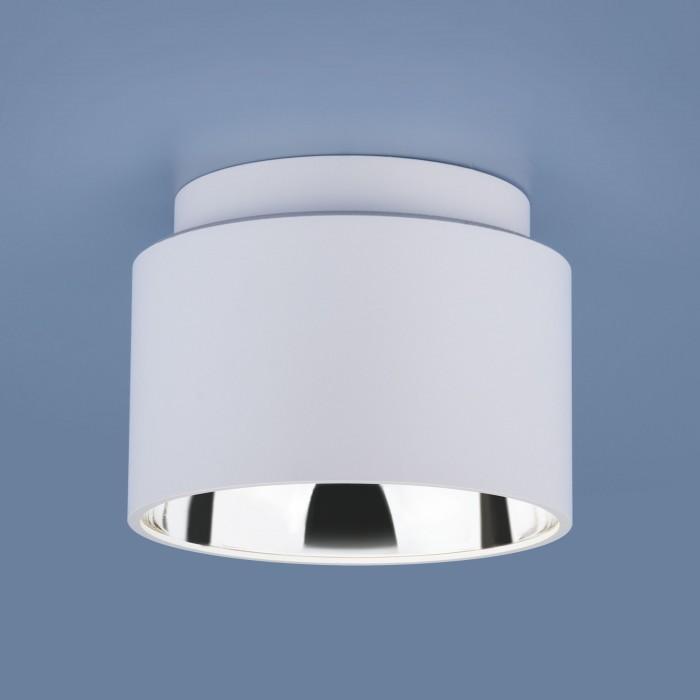 2Накладной точечный светильник 1069 GX53 WH белый Elektrostandart