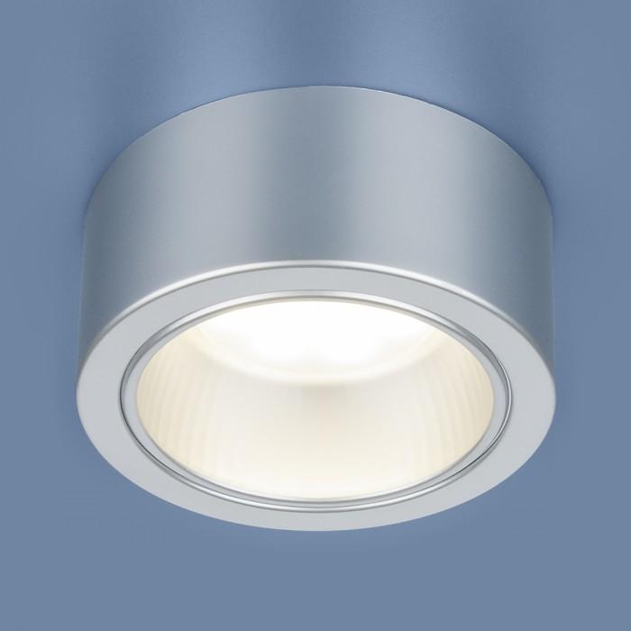 1Накладной точечный светильник 1070 GX53 SL серебро Elektrostandart