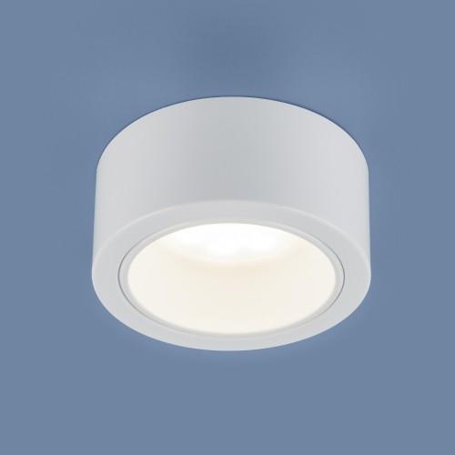 1070 GX53 WH белый Накладной точечный светильник Электростандарт