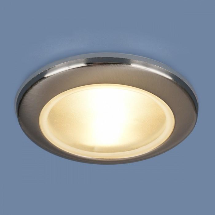 1Встраиваемый влагозащитный светильник 1080 MR16 хром