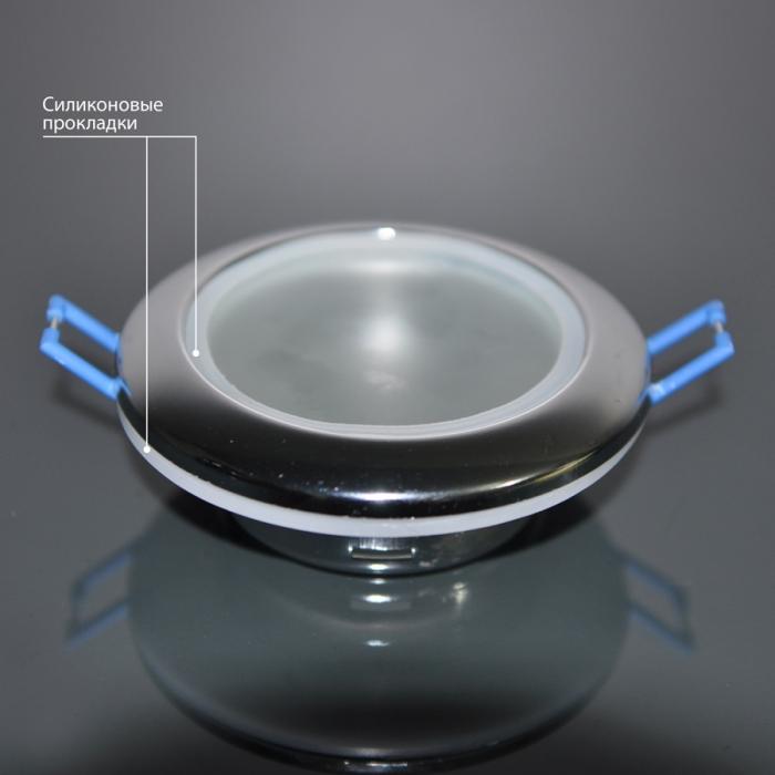 2Встраиваемый влагозащитный светильник 1080 MR16 хром