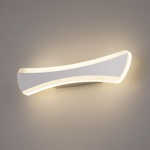 1090 хром Настенный светодиодный светильник Wave LED Электростандарт