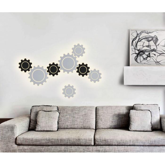 2Gear M LED черный Настенный светодиодный светильник