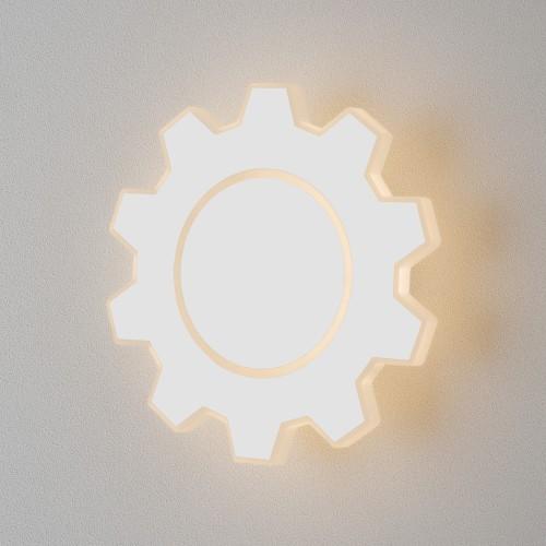 1095 Gear M LED белый Настенный светодиодный светильник