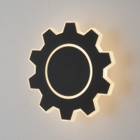 1095 Gear M LED черный Настенный светодиодный светильник