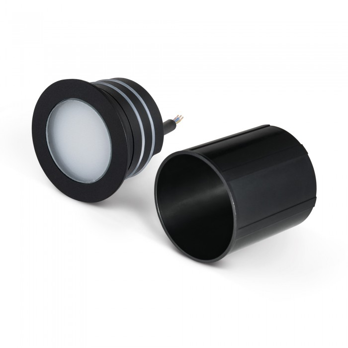 11108 черный Подсветка для лестниц и дорожек