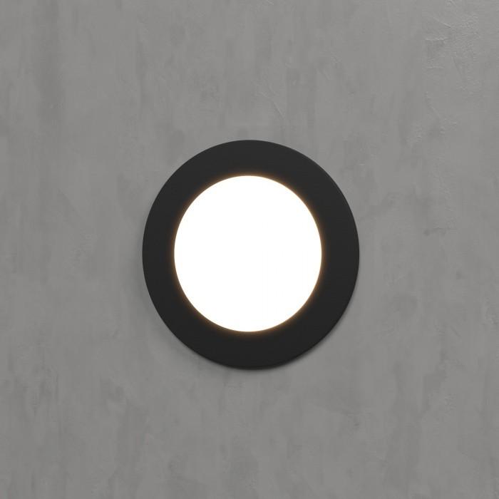 21108 черный Подсветка для лестниц и дорожек