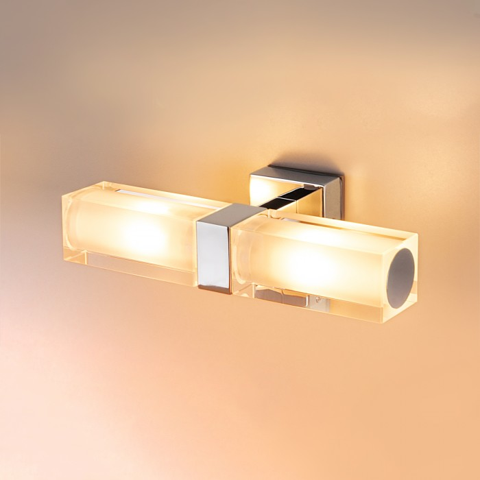 1Влагостойкий настенный светильник 1228 Duplex Электростандарт
