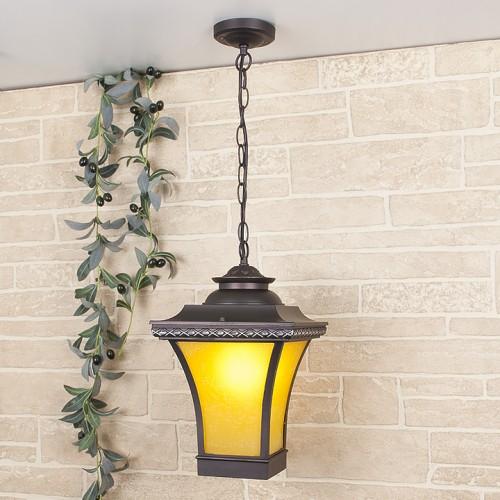 1408H Libra H венге уличный подвесной светильник Электростандарт