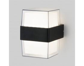 1519 TECHNO LED Maul черный уличный настенный светодиодный светильник Электростандарт