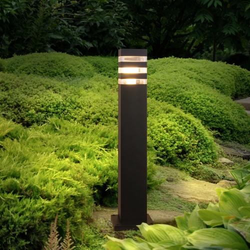 1550 TECHNO черный Ландшафтный светильник IP54 Электростандарт