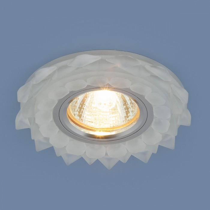 22209 MR16 Matt Ice матовый лед Встраиваемый потолочный светильник с LED подсветкой