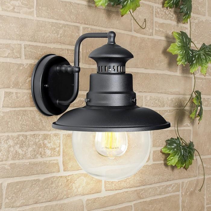 1Настенный уличный светильник 3002D Talli черный