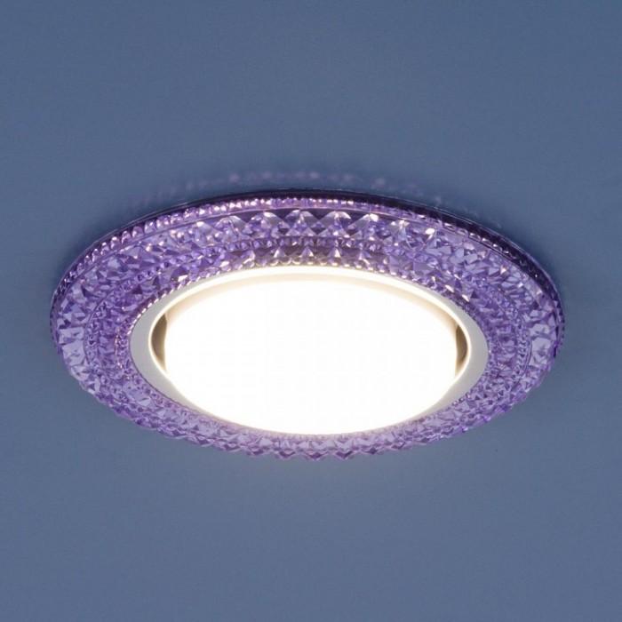 1Встраиваемый светильник 3030 GX53 фиолетовый