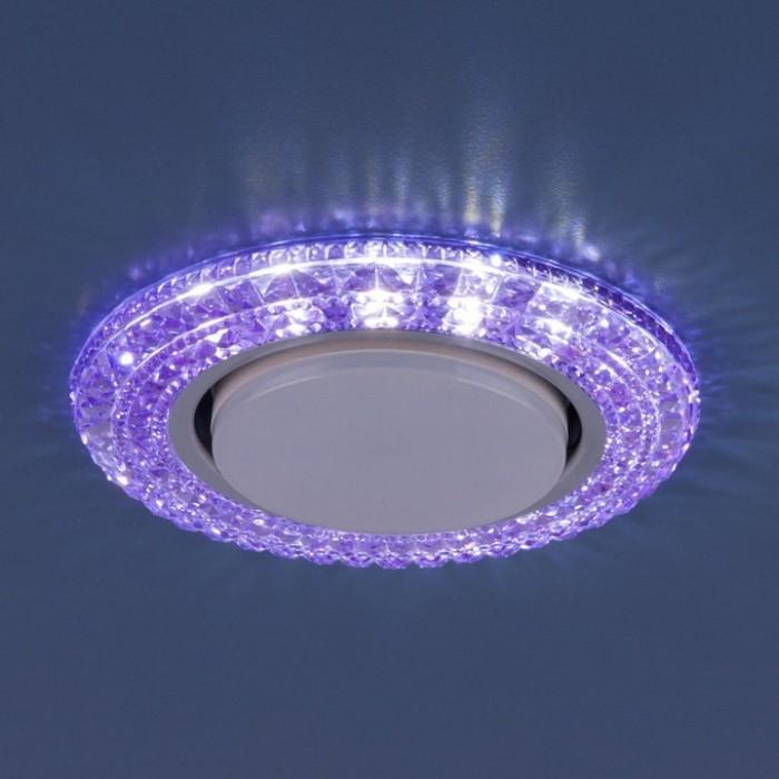 2Встраиваемый светильник 3030 GX53 фиолетовый