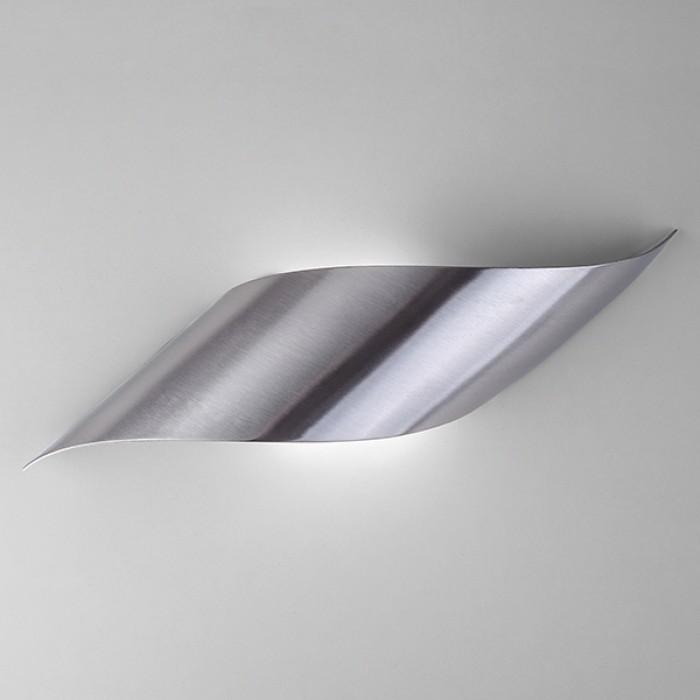1Настенный светодиодный светильник 40130/1 сатин-никель Elektrostandart
