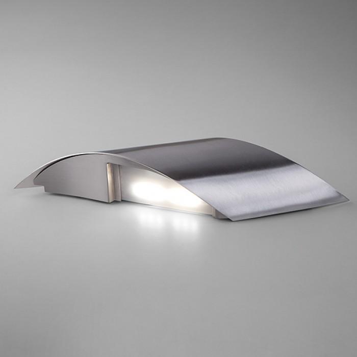 2Настенный светодиодный светильник 40130/1 сатин-никель Elektrostandart
