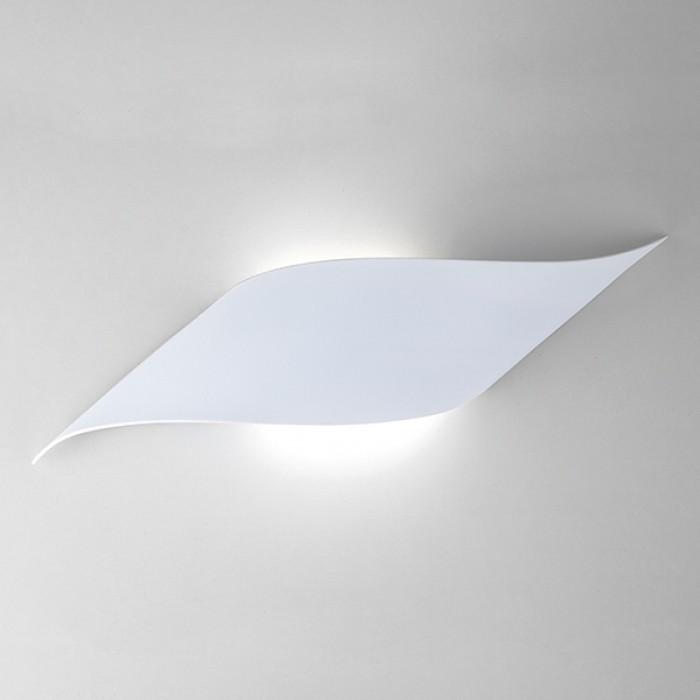 1Настенный светодиодный светильник 40130/1 белый Elektrostandart