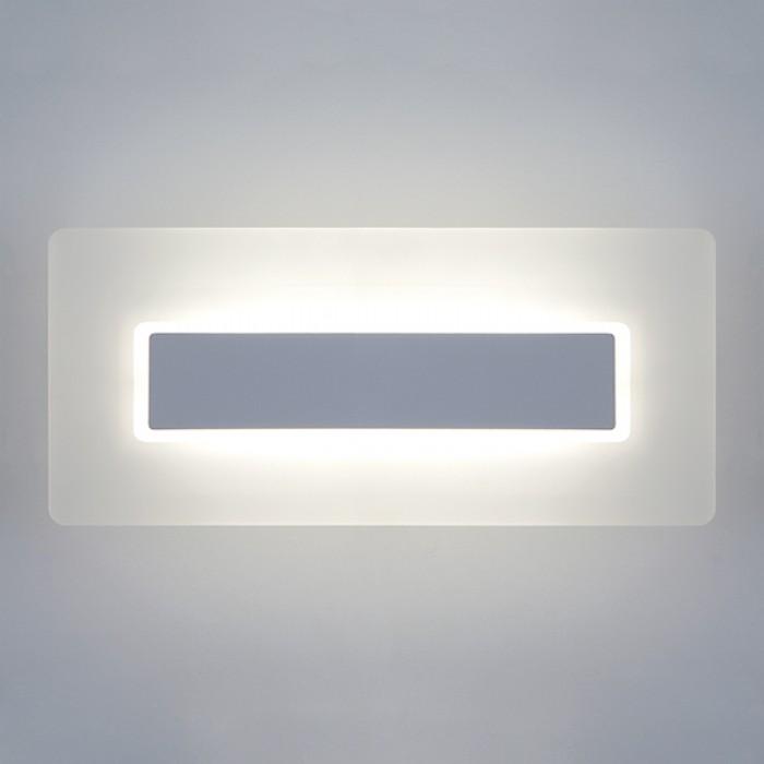 1Настенный светодиодный светильник 40132/1 белый Elektrostandart