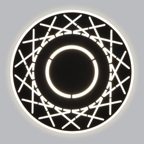 40148/1 черный Настенный светодиодный светильник Электростандарт