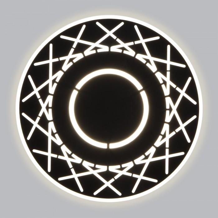 1Настенный светодиодный светильник 40148/1 черный Elektrostandart