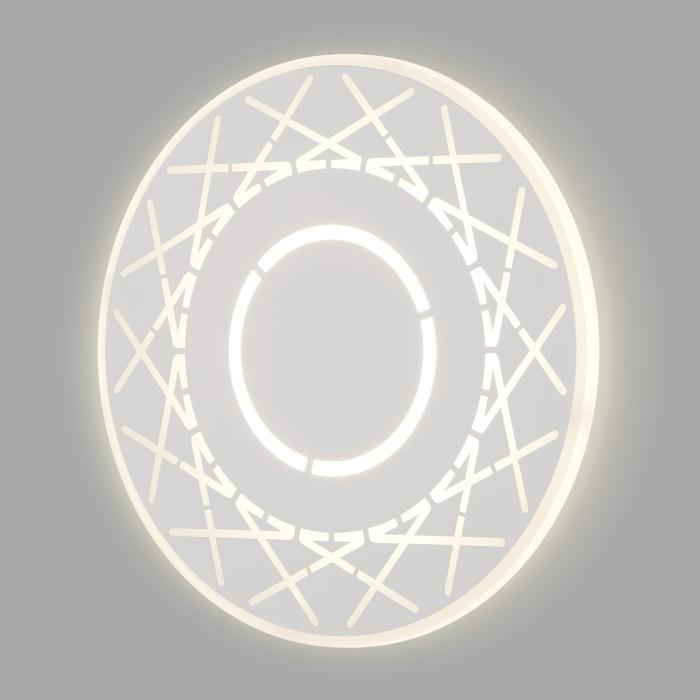 1Настенный светодиодный светильник 40148/1 белый Elektrostandart