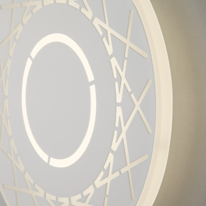 2Настенный светодиодный светильник 40148/1 белый Elektrostandart