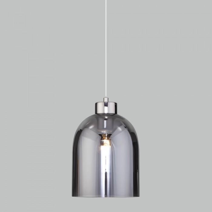 1Подвесной светильник со стеклянным плафоном 50119/1 никель Elektrostandart