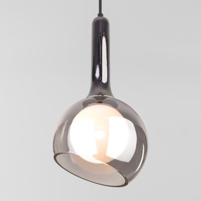 2Подвесной светильник со стеклянным плафоном 50188/1 дымчатый Elektrostandart