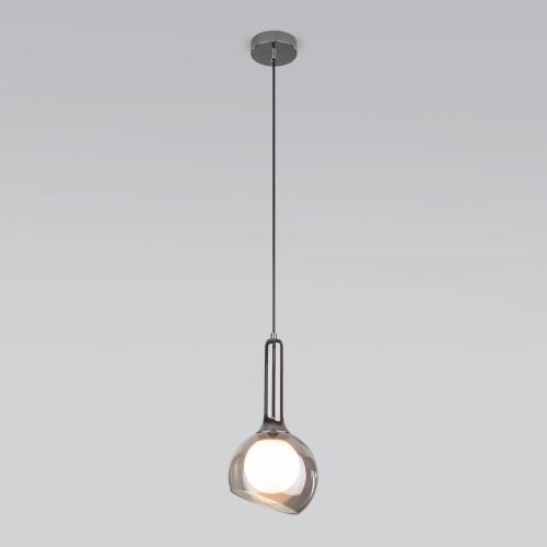 50188/1 дымчатый Подвесной светильник со стеклянным плафоном Электростандарт