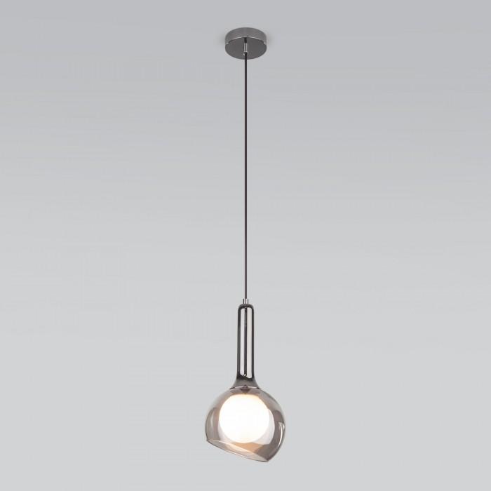 1Подвесной светильник со стеклянным плафоном 50188/1 дымчатый Elektrostandart