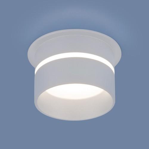 6075 MR16 WH белый Встраиваемый точечный светильник Электростандарт