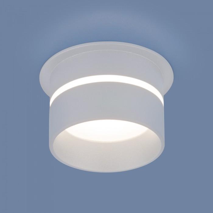 16075 MR16 WH белый Встраиваемый точечный светильник Elektrostandart