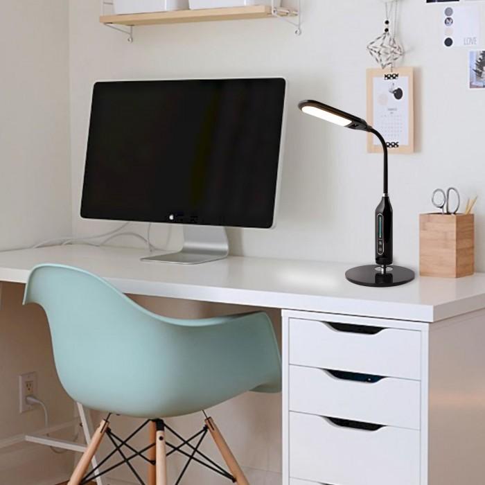 2Настольная лампа 80503/1 черная Elektrostandart