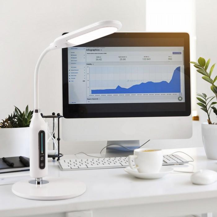 2Настольная лампа 80503/1 белая Elektrostandart
