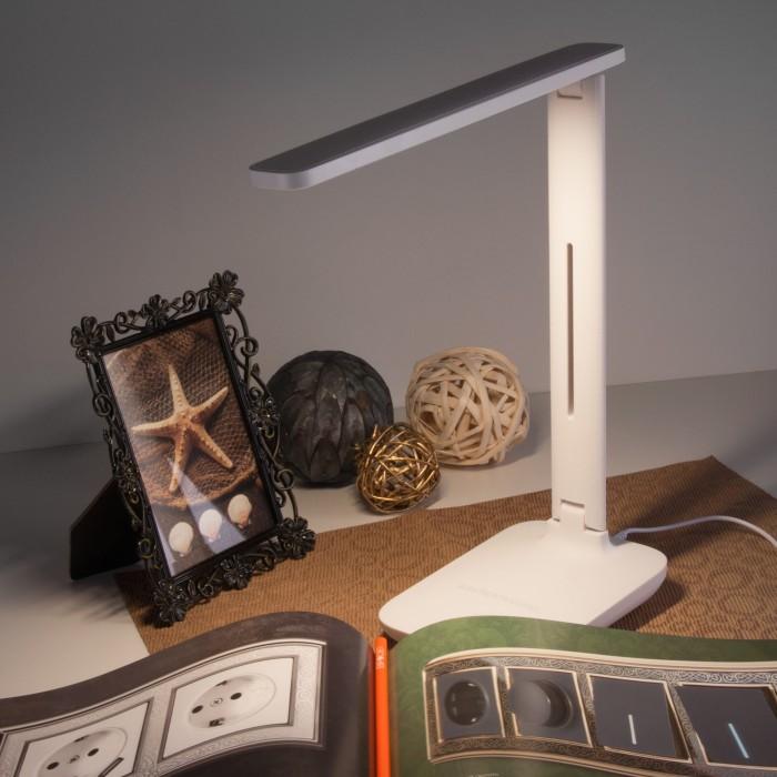 2Светодиодная настольная лампа TL80960 Электростандарт белого цвета