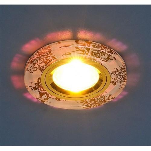 8561/6 белый/золото Электростандарт Встраиваемый светильник